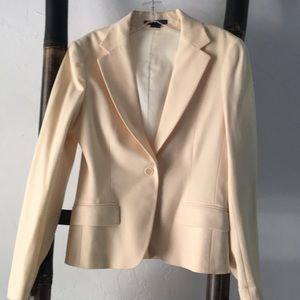 Cream Theory one button jacket